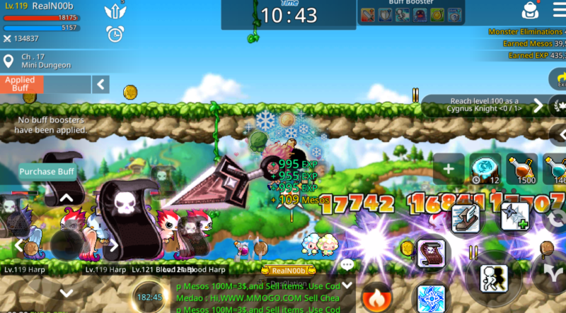 Maplestory Best Class 2020.Maplestory M How To Increase Your Damage Ordinary Reviews