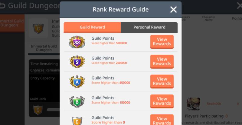 guild points maplestory m