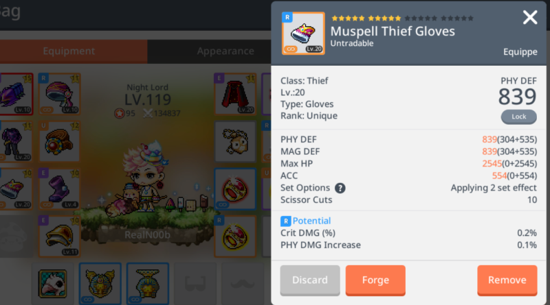 how to add damage maplestory m