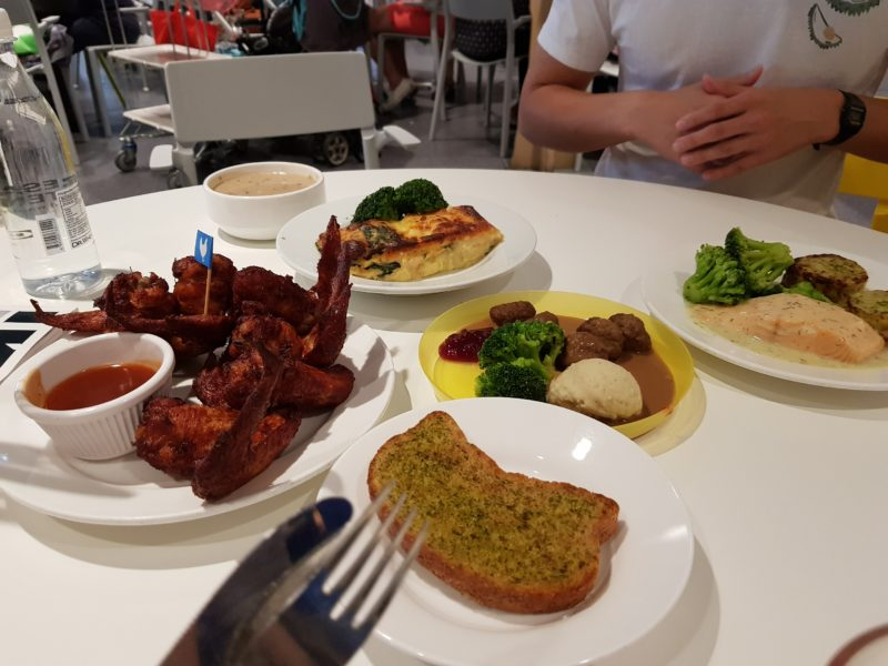 ikea tampines food review