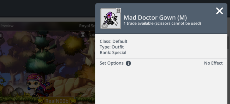 mad doctor gown