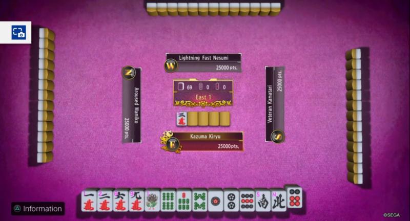 mahjong yakuza kiwami 2