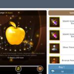 maplestory m golden apple items