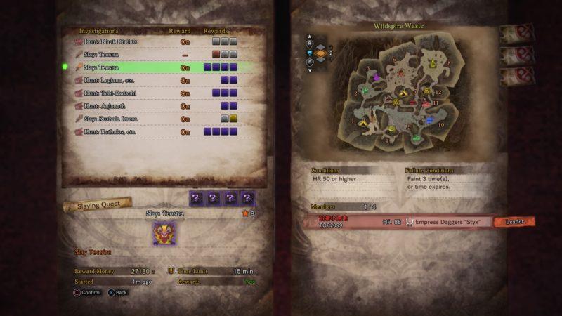 monster hunter world hero's streamstone