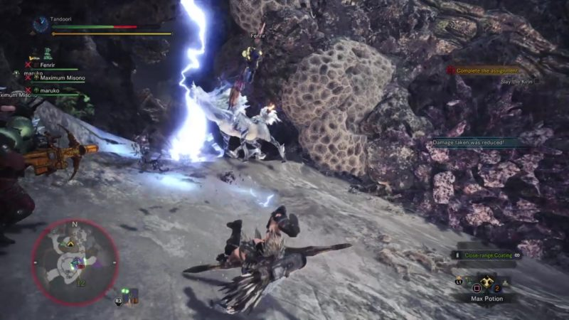how to complete thunderous rumble in the highlands and defeat kirin
