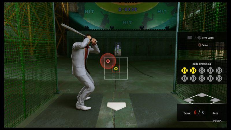 yakuza kiwami 2 batting cage