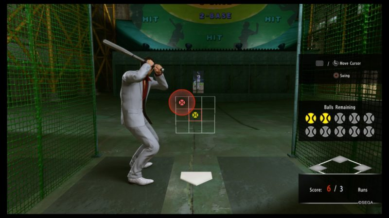 yakuza kiwami 2 earn plates in batting cage