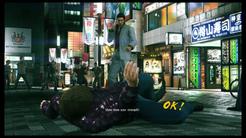 yakuza kiwami 2 make money beating thugs