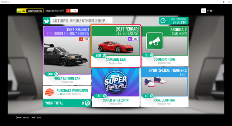 Forza Horizon 4: How To Earn Credits (CR) Fast - Ordinary