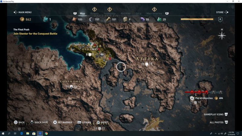 ac odyssey how to remove bounty