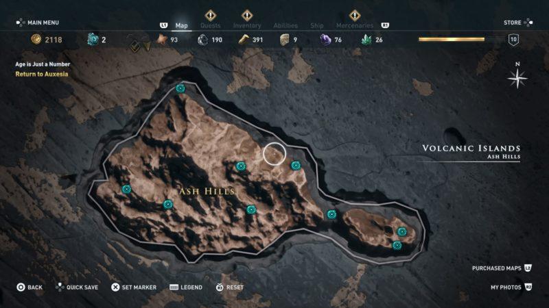 anaphi orichalcum location