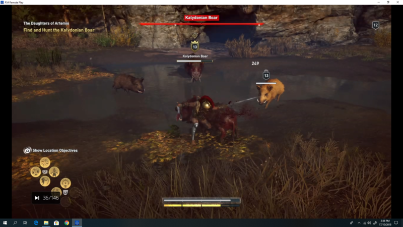 assassin's creed odyssey kalydonian boar location