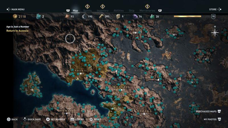 where to find orichalcum fragments assassins creed odyssey