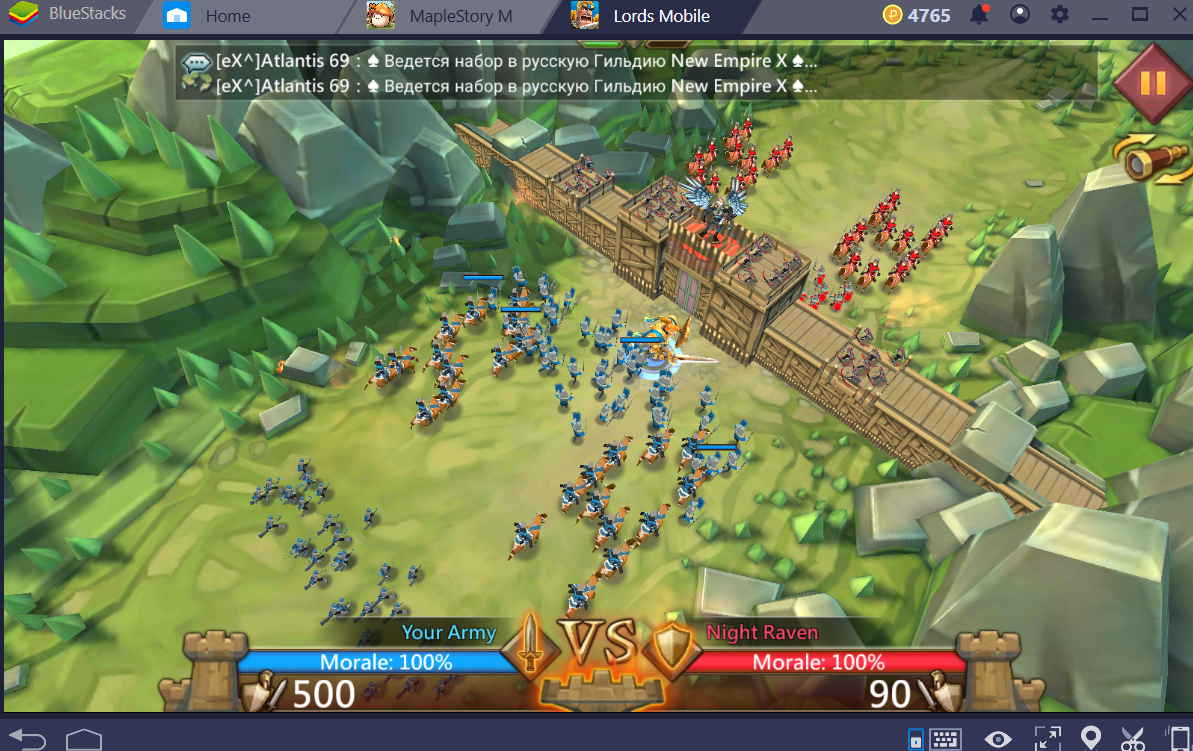 lords mobile pc online