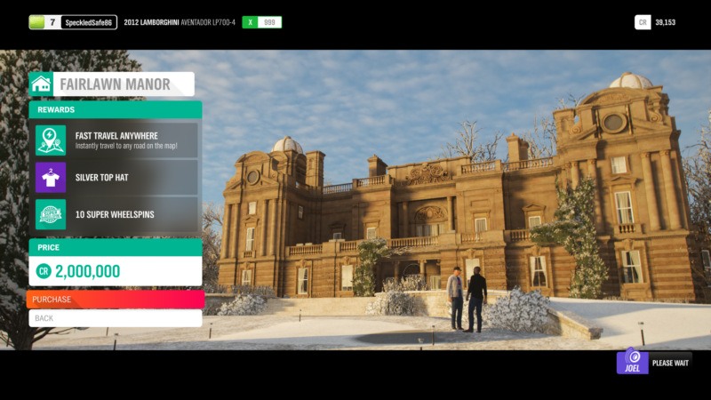 all locations of houses in forza horizon 4