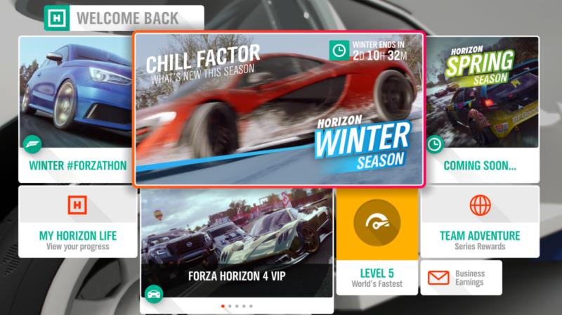 forza horizon 4 wheelspins