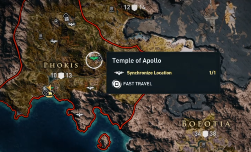 how to fast travel assassins creed odyssey