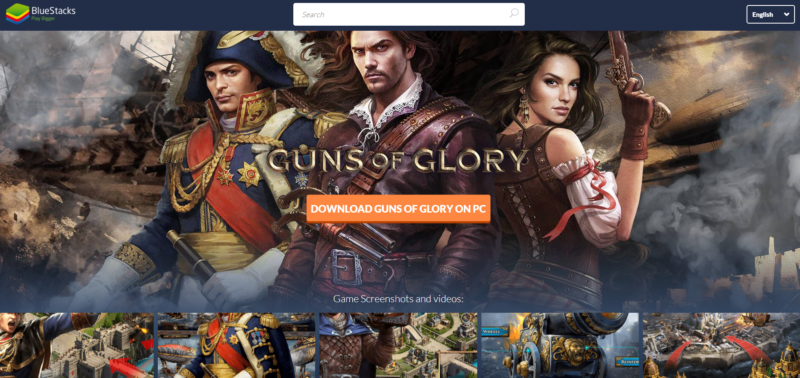 how to play guns of glory on pc