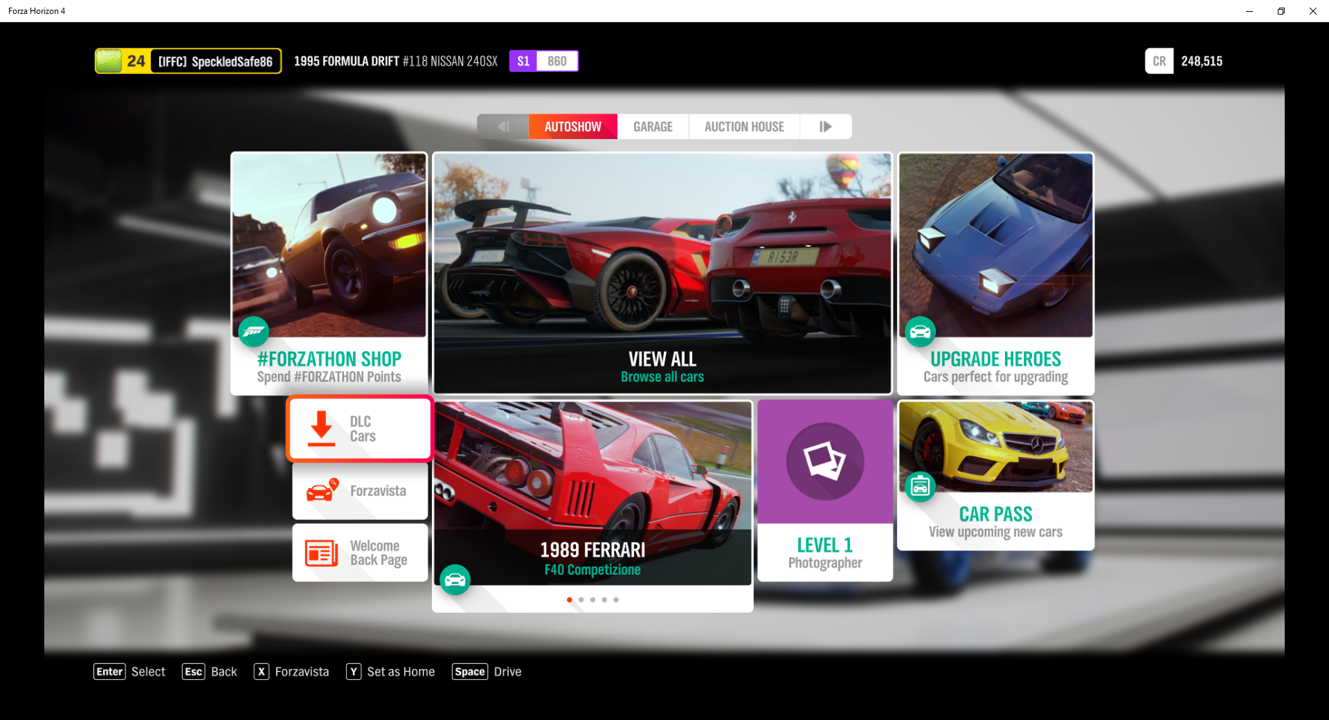 Forza Horizon 4: How To Redeem Cars In DLC Packs