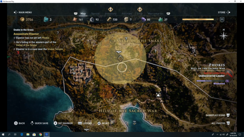 location of elpenor assassins creed odyssey