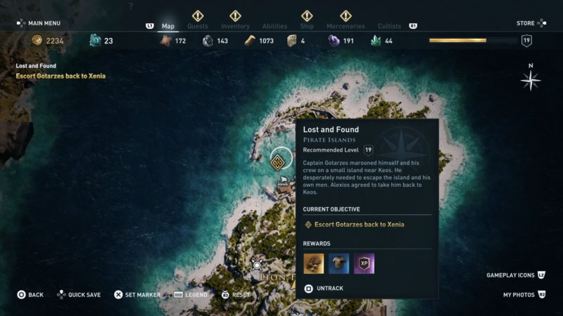 Assassin S Creed Odyssey Lost And Found Walkthrough