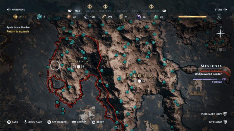orichalcum world map ac odyssey