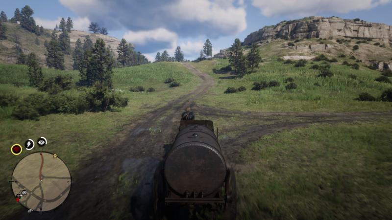 oil wagon location - rdr 2