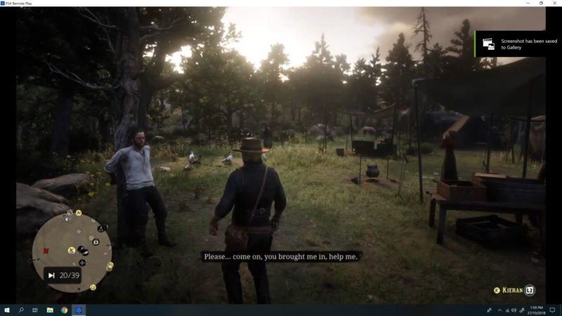 rdr 2 mission - paying a social call