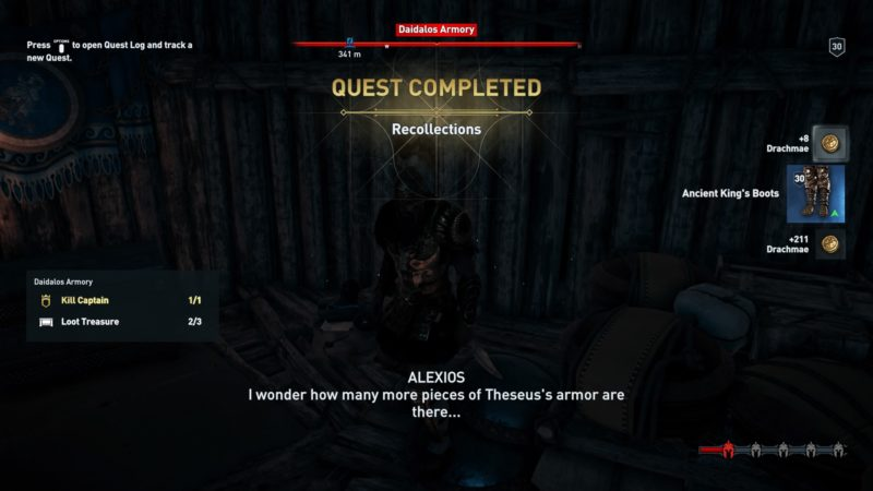 Theseus Armor Odyssey