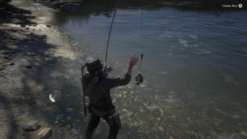 red dead - a fisher of men