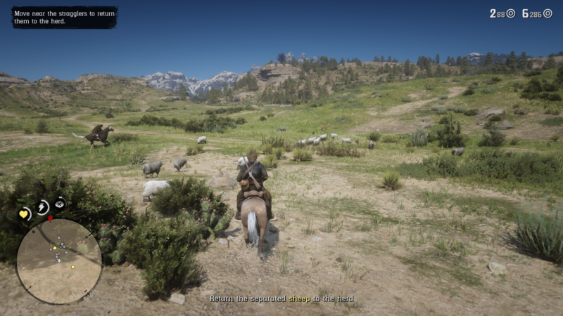 red dead redemption the sheep and the goats