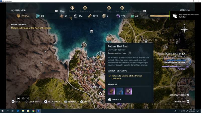 Assassin's Creed Odyssey: Follow That Boat (Walkthrough)