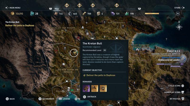 assassins-creed-odyssey-the-kretan-bull-quest-walkthrough