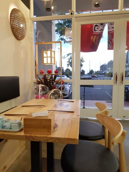 daruma syokudo restaurant review melaka