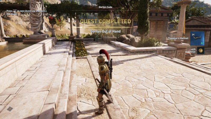 Assassin's Creed Odyssey: Gortyn Out Of Hand (Walkthrough)