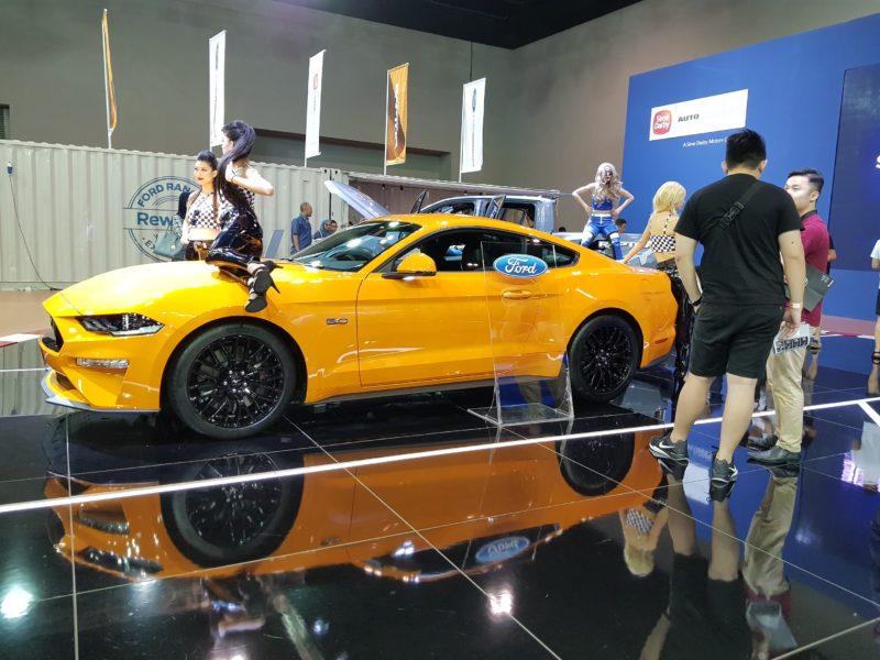 kuala lumpur international motor show ford mustang