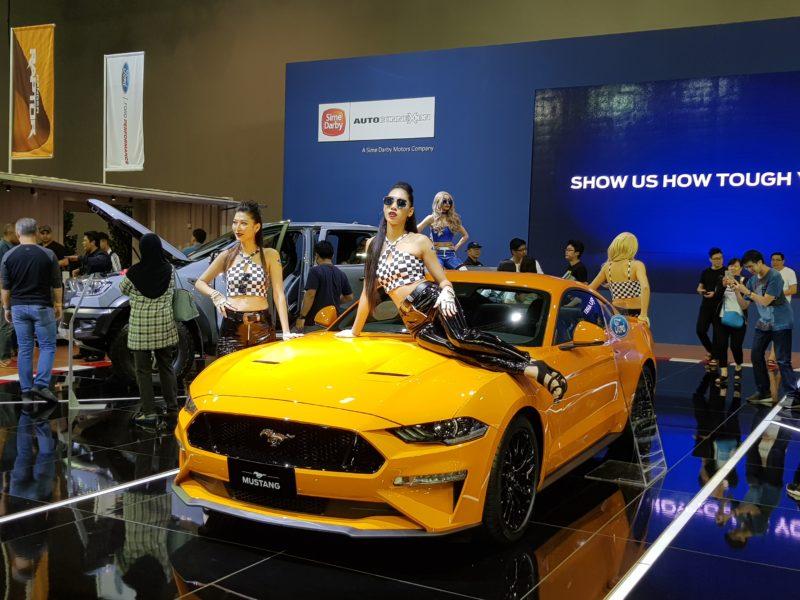 kuala lumpur international motor show mustang