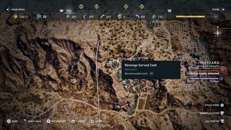 Assassin S Creed Odyssey Revenge Served Cold Walkthrough