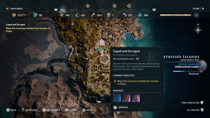 ac-odyssey-caged-and-enraged-quest-guide