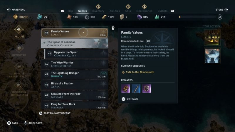 ac-odyssey-family-values-guide