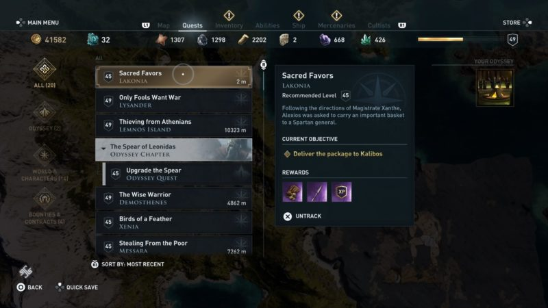 ac-odyssey-sacred-favors-guide