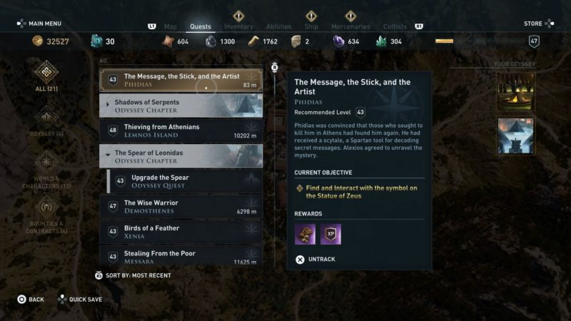 ac-odyssey-the-message-the-stick-and-the-artist-guide