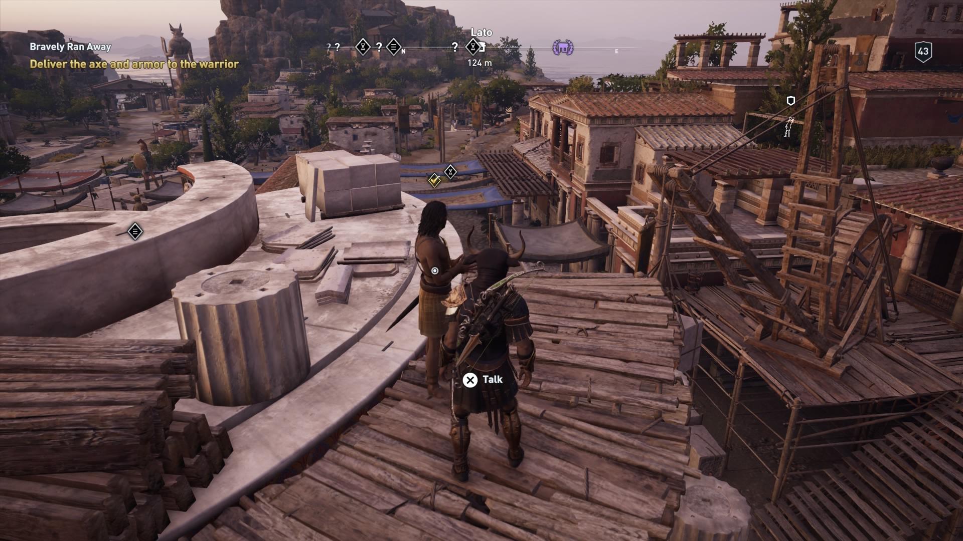 Assassin S Creed Odyssey Bravely Ran Away Walkthrough