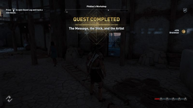 assassins-creed-odyssey-the-message-the-stick-and-the-artist-walkthrough