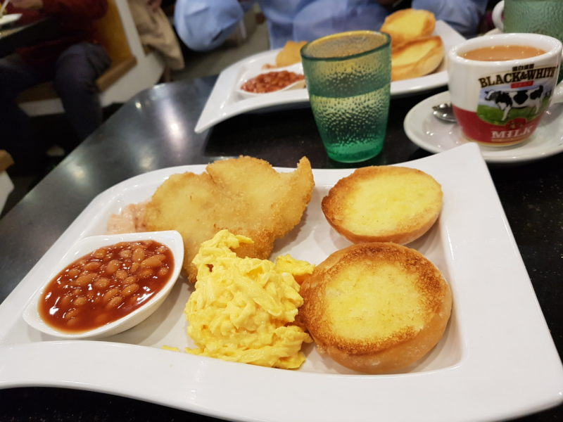 breakfast food - tsim sha tsui