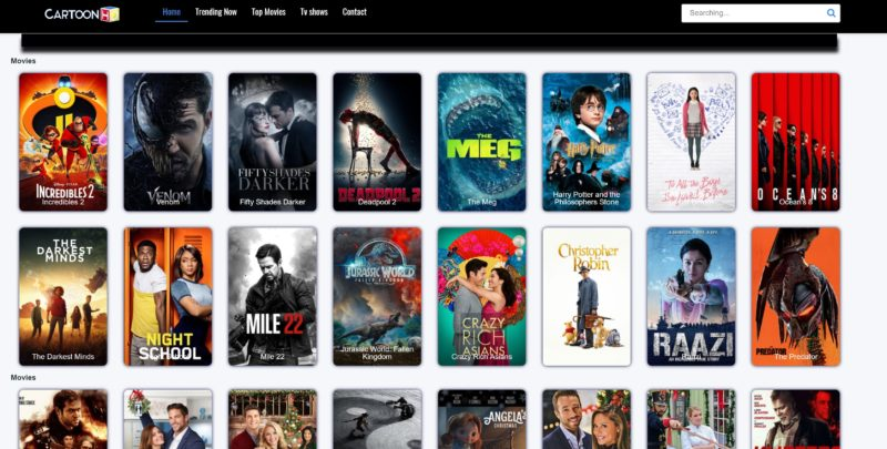 stream free movies websites