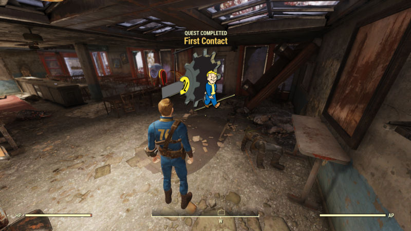 fallout 76 first contact quest