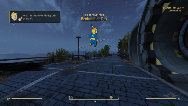 fallout 76 reclamation day mission walkthrough
