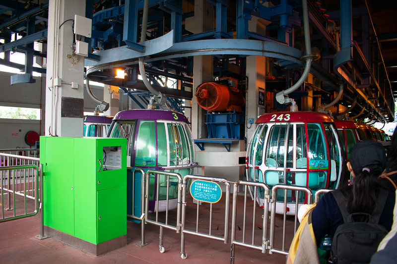 ocean park cable car attraction