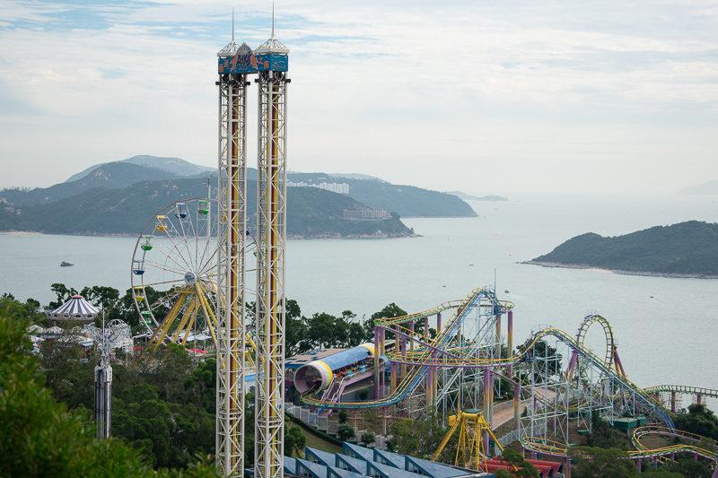 ocean park theme park hong kong